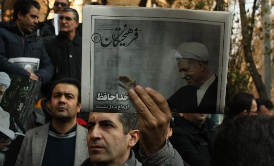 عکس هایی از بدرقه باشکوه پیکر مطهر آیت الله هاشمی رفسنجانی