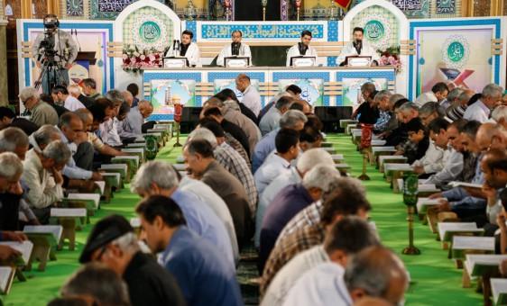 جزءخوانی در حرم مطهر حضرت عبدالعظیم حسنی(ع)