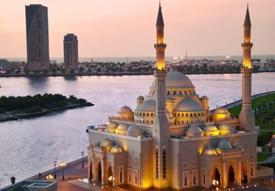 آشنایی با مسجد النور زیباترین مسجد امارات