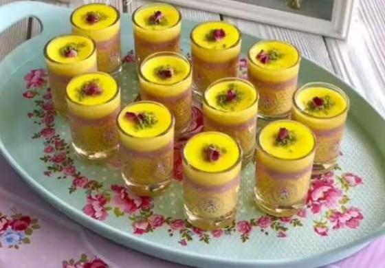 طرز تهیه فرنی زعفرانی خوشمزه و ساده مخصوص افطار