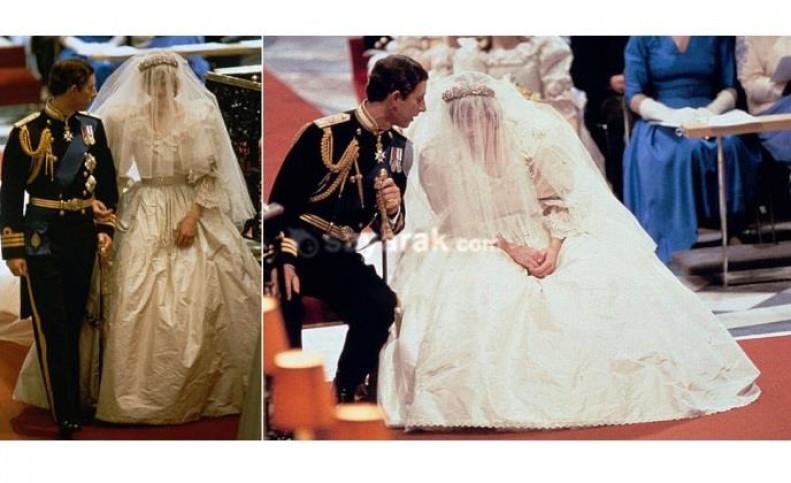 چروکیده ترین و تاسف آورترین لباس عروسی در تاریخ