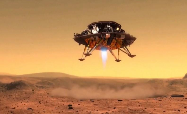 خدای آتش در مریخ