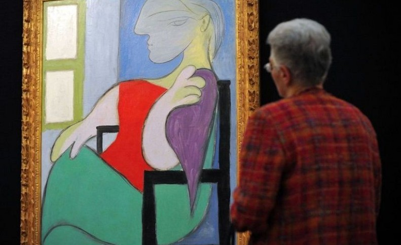 نقاشی پیکاسو از معشوقهاش ۱۰۳ میلیون دلار چکش خورد + تصویر تابلو
