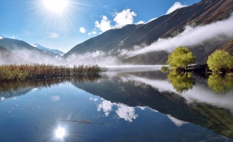 ممنوعیت ورود گردشگران به دریاچه گهر