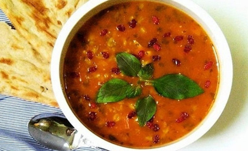 دستور پخت یک سوپ فوری
