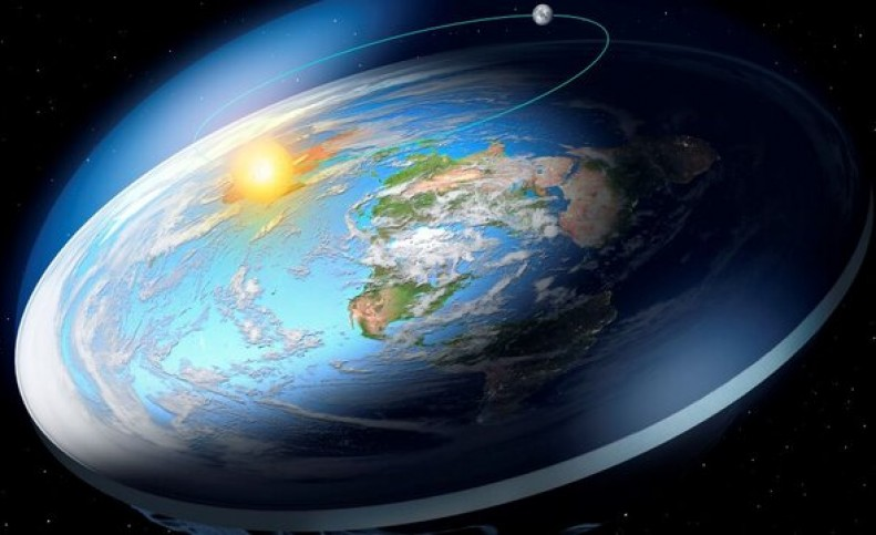 """زندگی بر روی """"زمین مسطح"""" چگونه خواهد بود؟"""