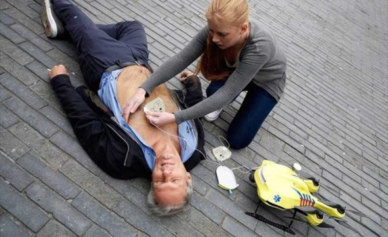 وقتی پهپادها افراد مبتلا به ایست قلبی را از مرگ نجات میدهند!