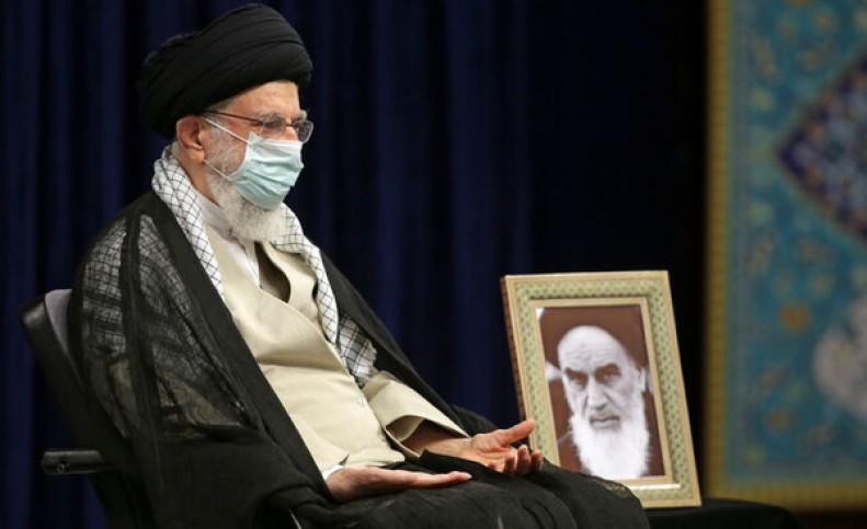 مراسم عزاداری اربعین حسینی در حضور رهبر انقلاب اسلامی