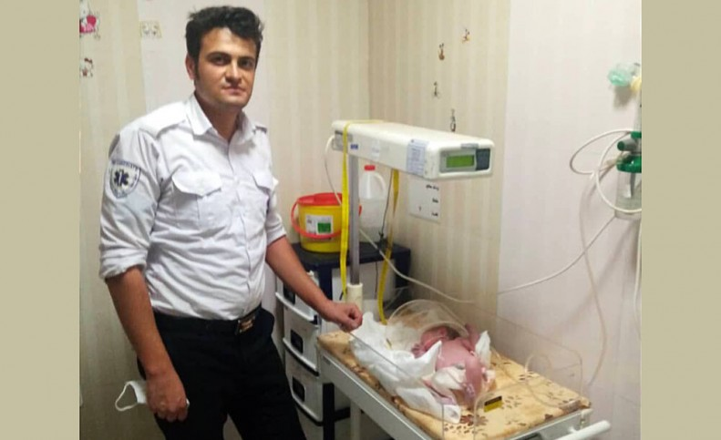 تولد نوزاد اقلیدی در آمبولانس